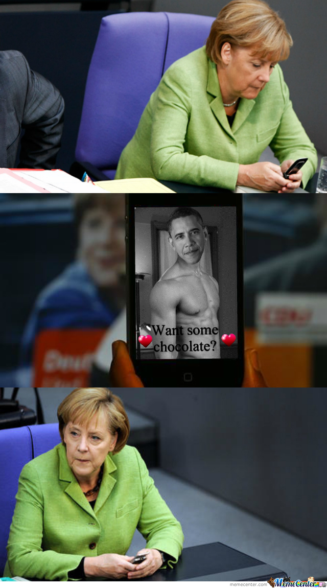 So The U.s. Spied Into Merkel's Mobile Phone, Huh?