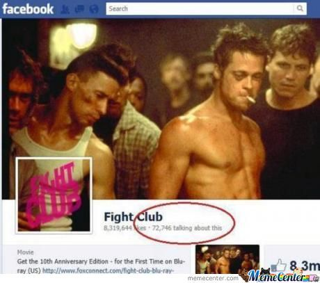So...what Was The First Rule Of Fight Club?