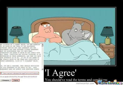 So You Clicked 'i Agree' Without Reading...