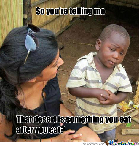 So You're Telling Me..