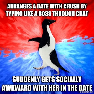 Socially Awesome Awkward Penguin by Ifreet - Meme Center