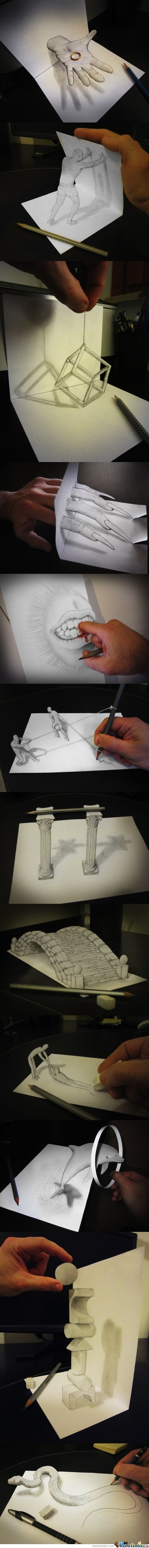 Some Awesome People 4#(3D Drawings)