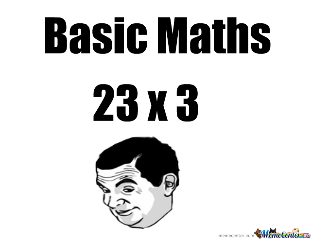 Some Basic Maths...
