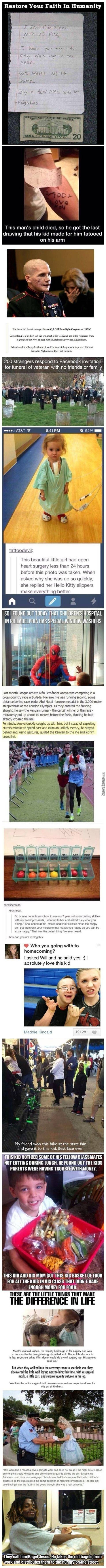 Some Faith In Humanity To Make You Feel Good