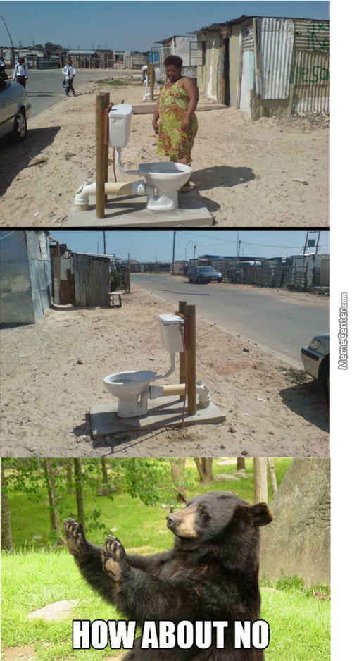 Some Public Toilet In South Africa