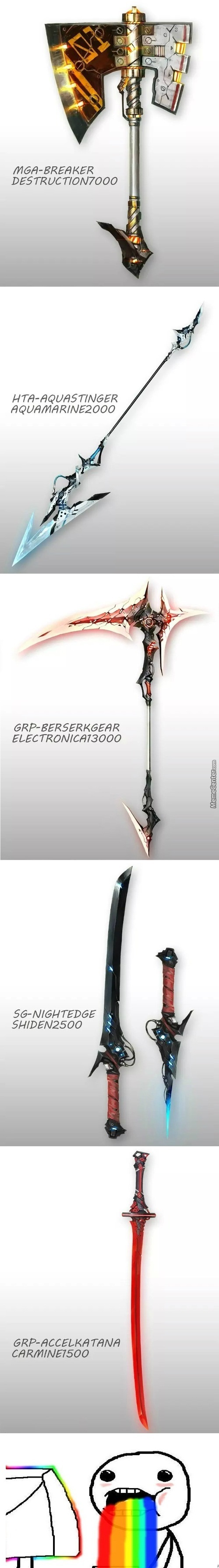 Some Really Awesome Weapons In Real Life
