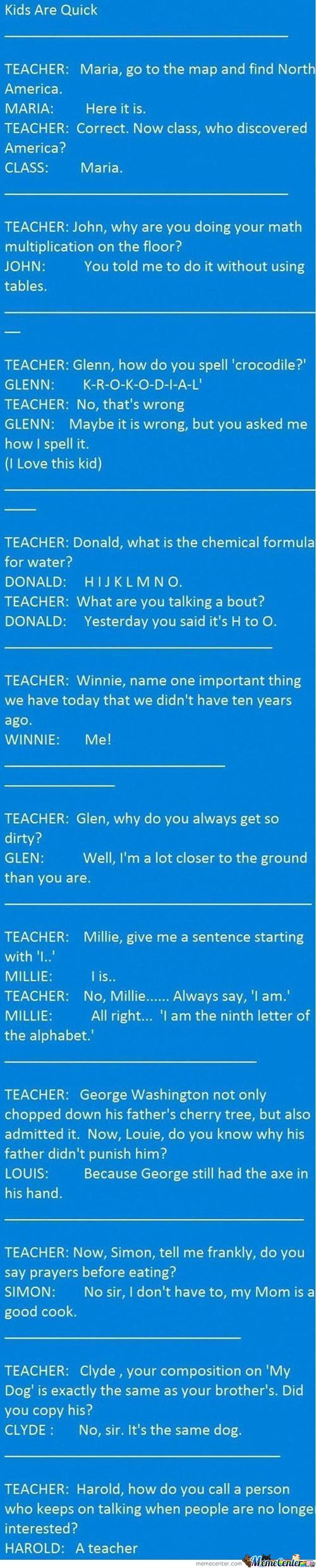 Some School Memories