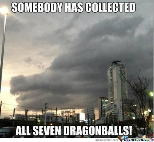 Somebody Collected The Dragonballs