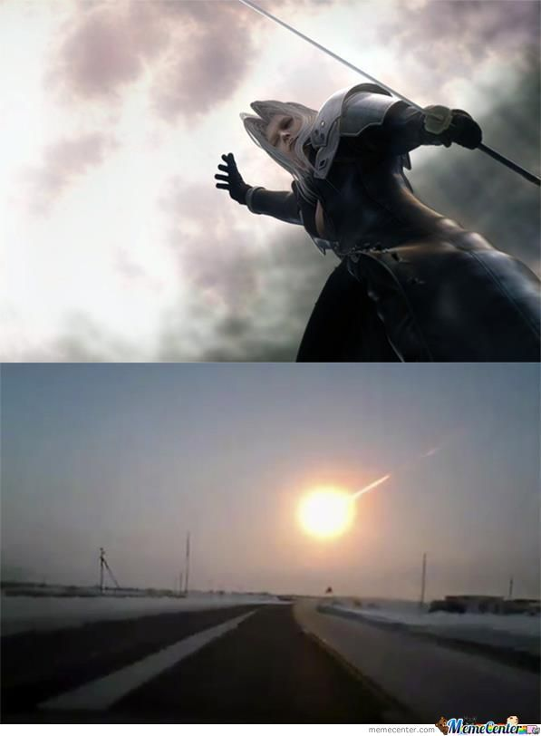 Someone In Russia Really Pissed Off Sephiroth