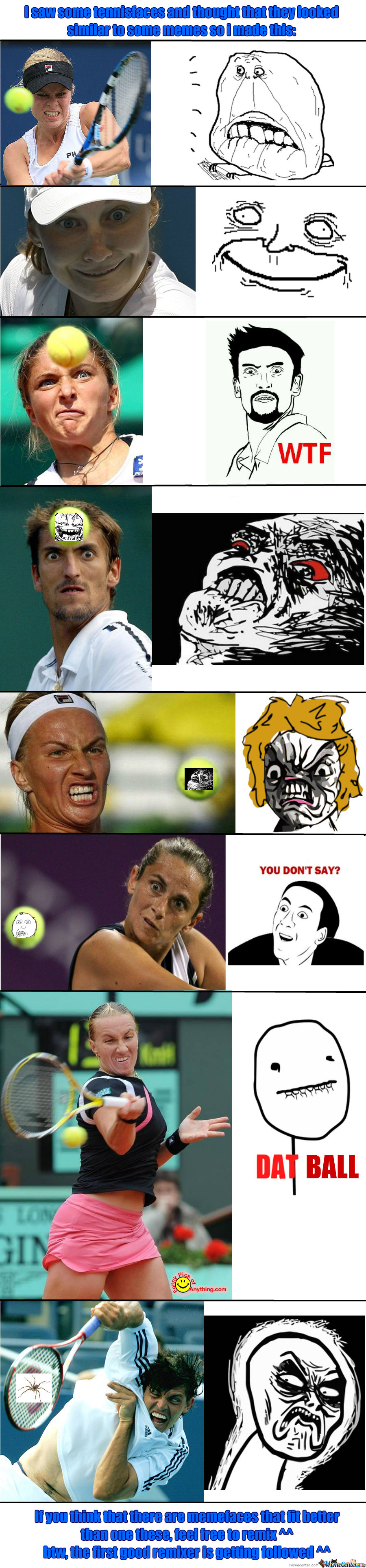 Sometimes I Think We Should Just Stop And Appreciate All The Faces Tennis Has To Offer Us.