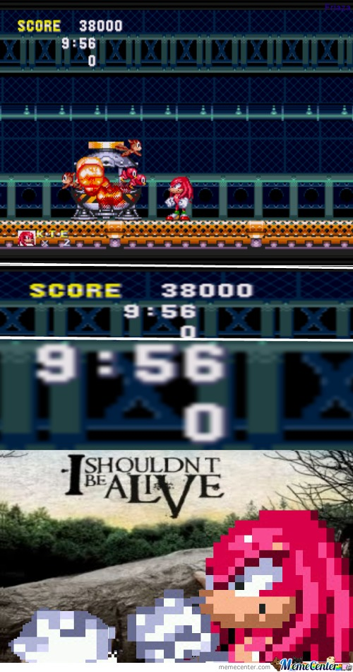 Sonic 3 And Knuckles - I Shouldn't Be Alive