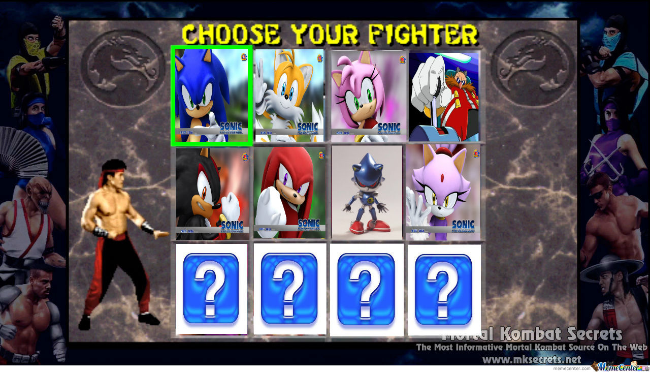 Sonic Fighting Game