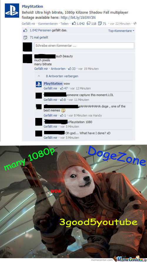 Sony Believes In The Lord And Savior Doge