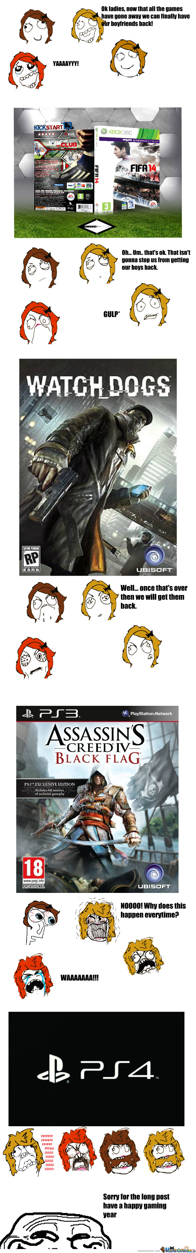 Sorry Girls, But It's Just The Right Year For Gaming...like Every Year.