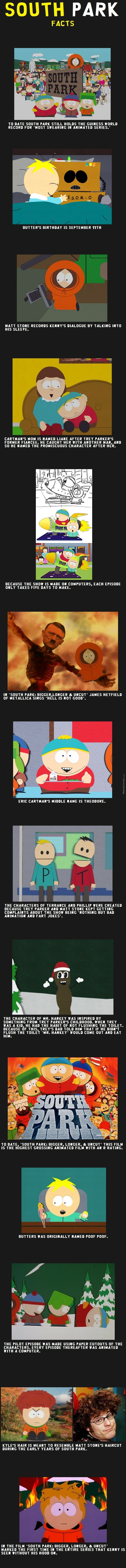 South Park Fact Compilation