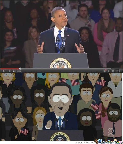 South Park Nailed It.