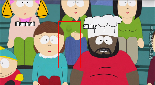 South Park Subliminal Message? (S06E15 - The Biggest Douche Ever)