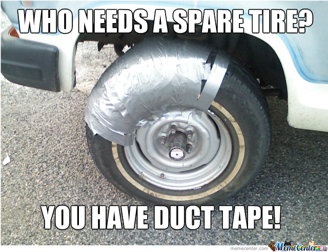 Spare Tire, I Don't Need You!