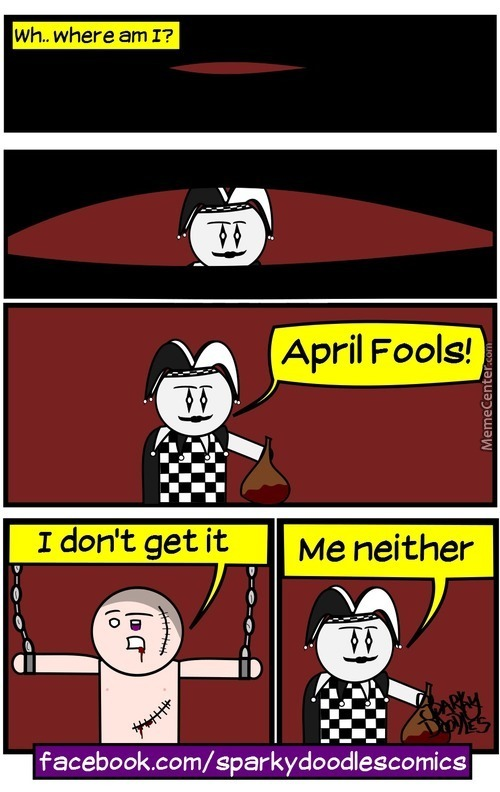 Sparky Doodles: April Fools 2016