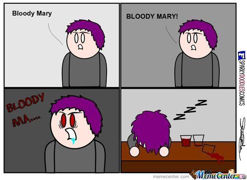 Sparky Doodles: Bloody Mary