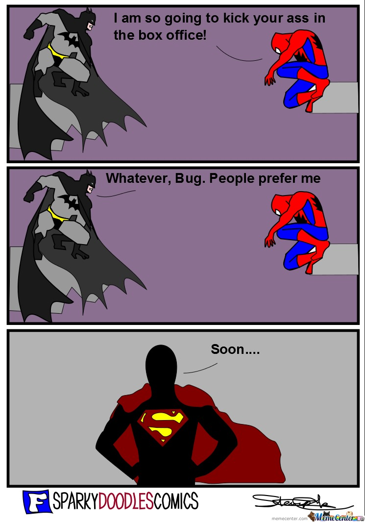 Sparky Doodles Comics: Man Of Steel
