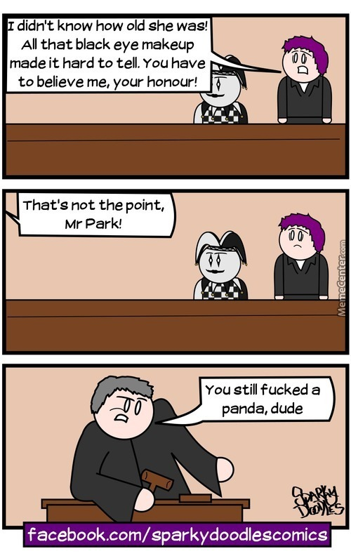 Sparky Doodles: Order In The Court