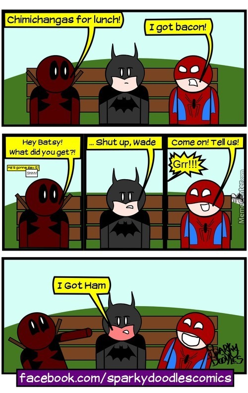 Sparky Doodles: Superhero Lunch