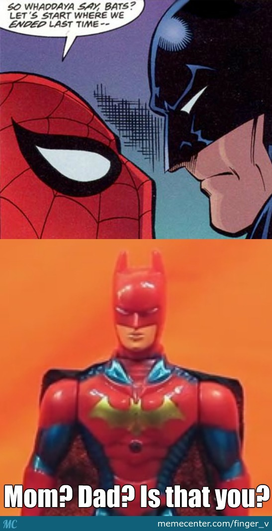 Spider-Bat, Or Batspider?