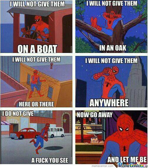 Spider Man At His Best.