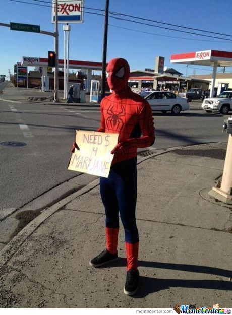 Spider-Man Need $