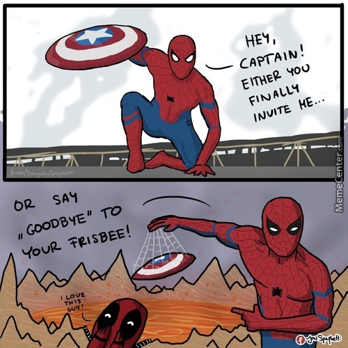 Spider-Man, Pls...