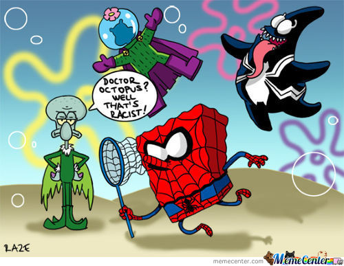 Spiderbob Stickypants