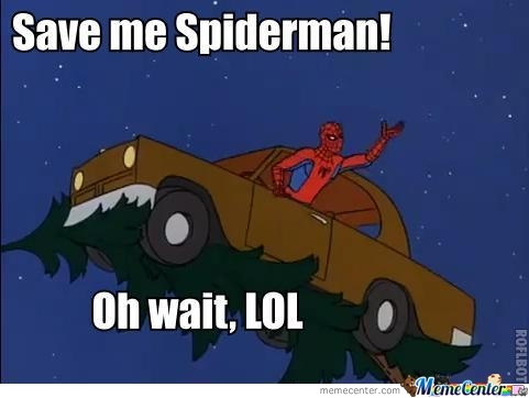 Spiderman Again