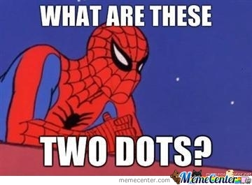 Spiderman And Dots