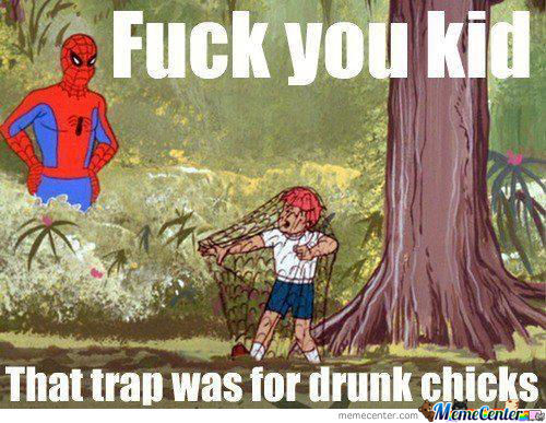 Spiderman Disapproves