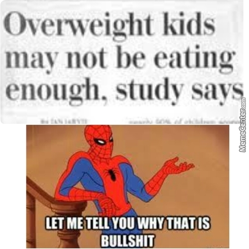 Spiderman Does Not Agree With Your Logic