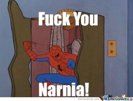 Spiderman Does Not Approve  Narnia