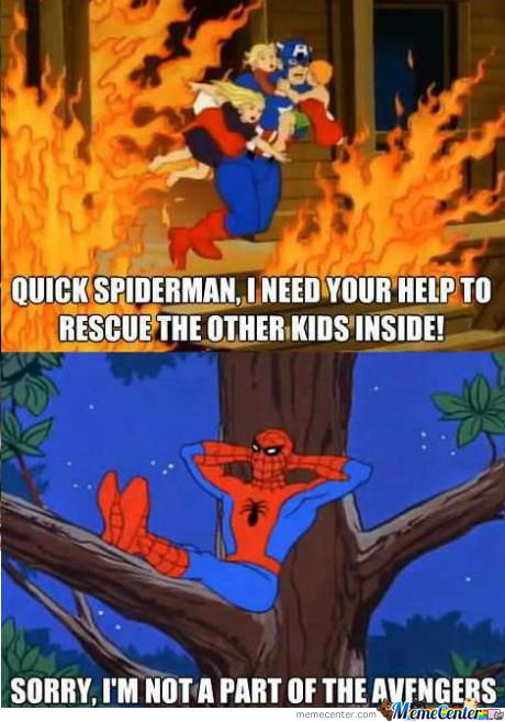 Spiderman Doesn't Care.