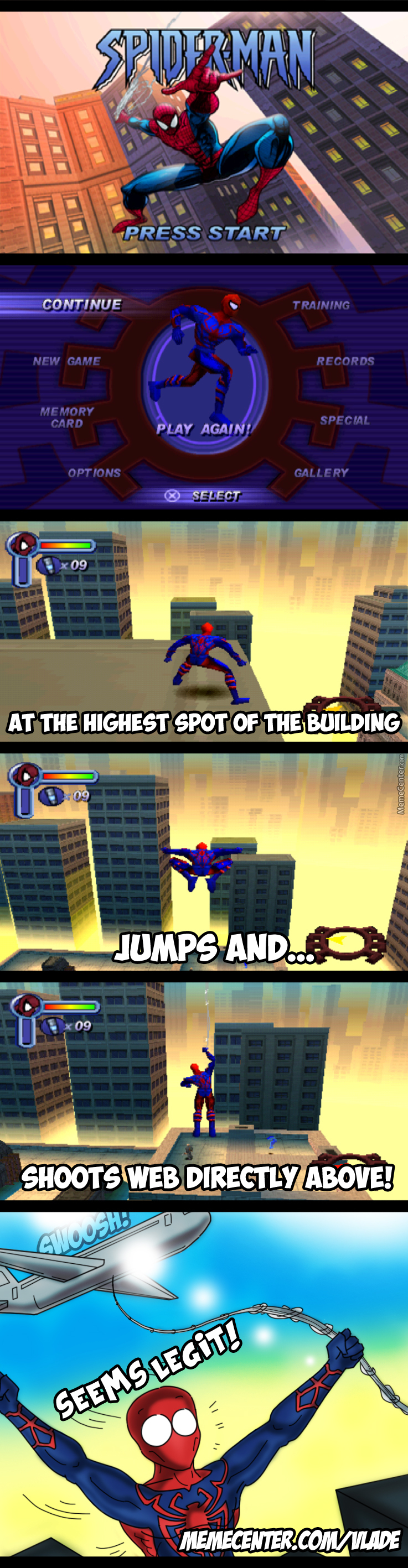 Spiderman Logic!