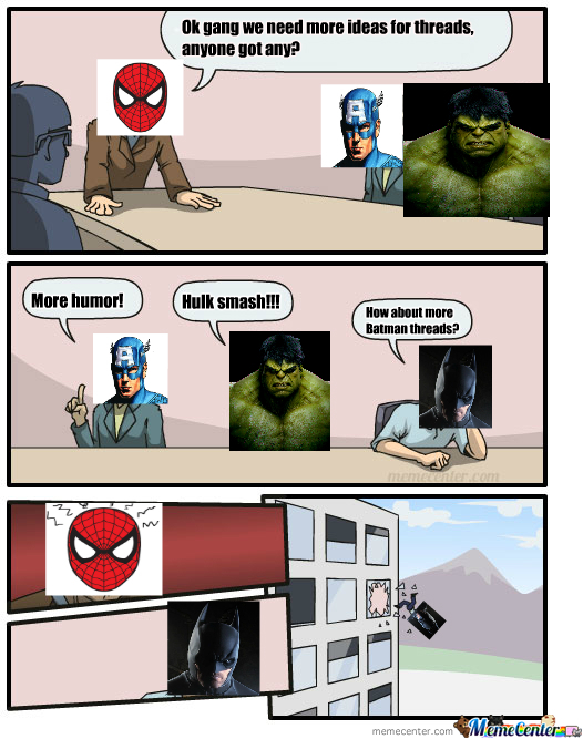 Spiderman Threads