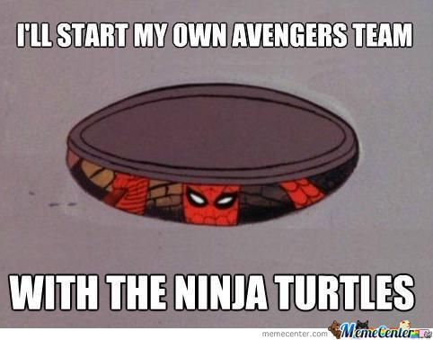 Spiderman Tmnt