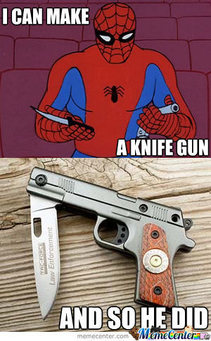 Spiderman You're So Creative