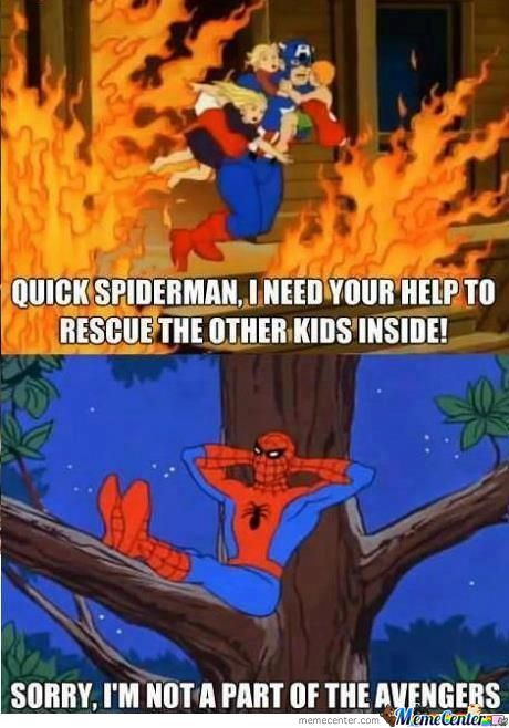 Spiderman...