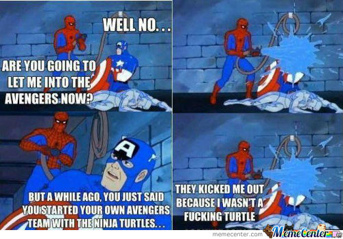 Spidey Doin' It Right