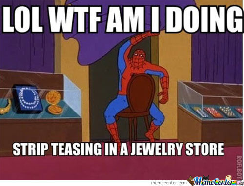 Spidey, High As Usuall