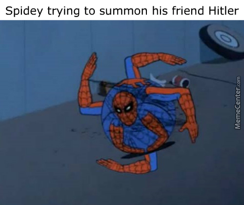 Spidey Never Will Makes Any Jewish Friends.