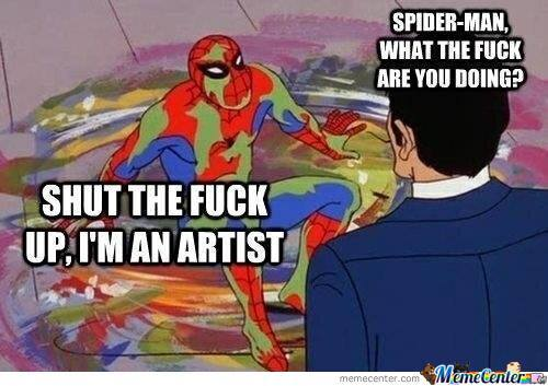 Spidey The Artist