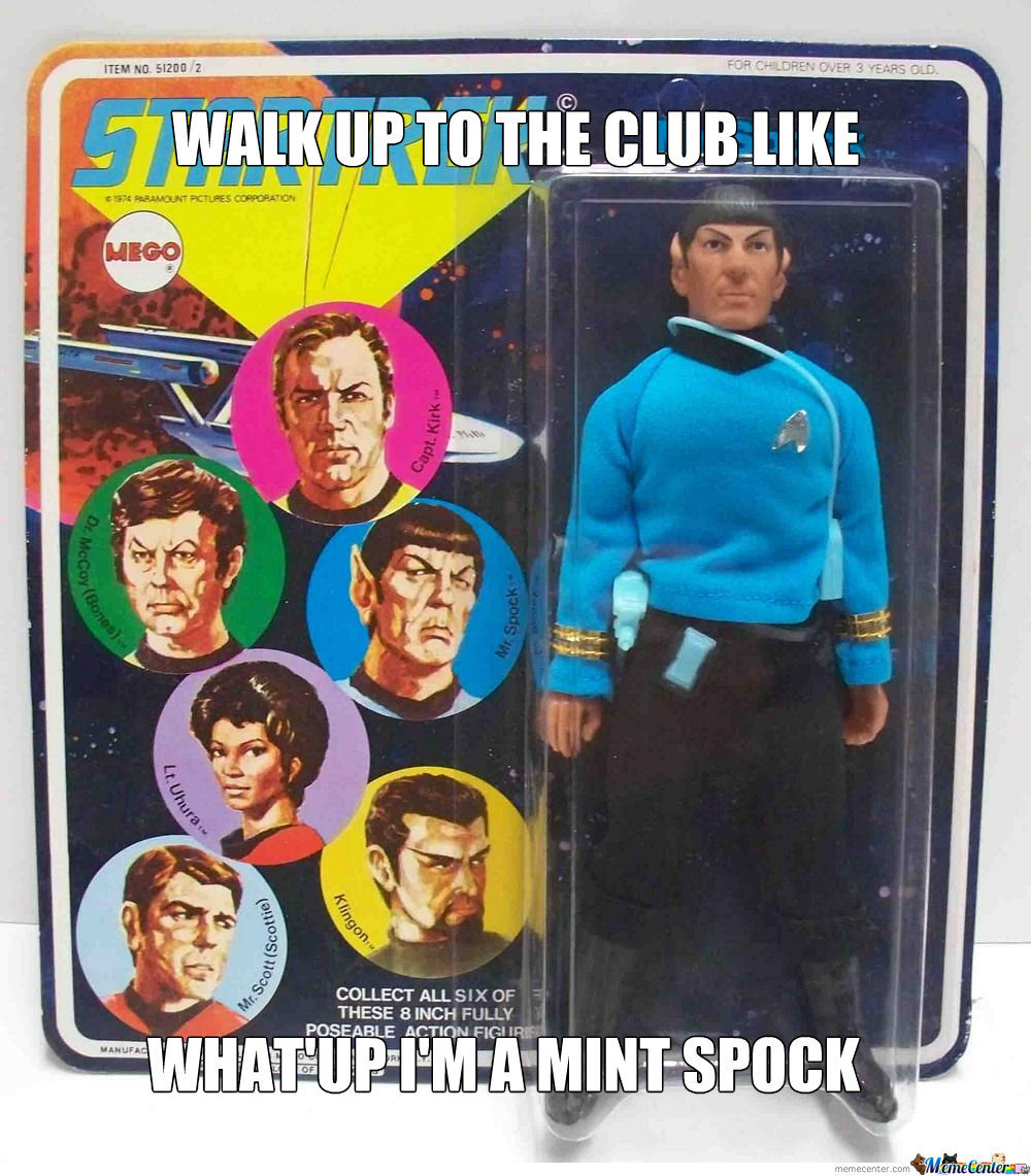 Spock Is Poppin' Tags