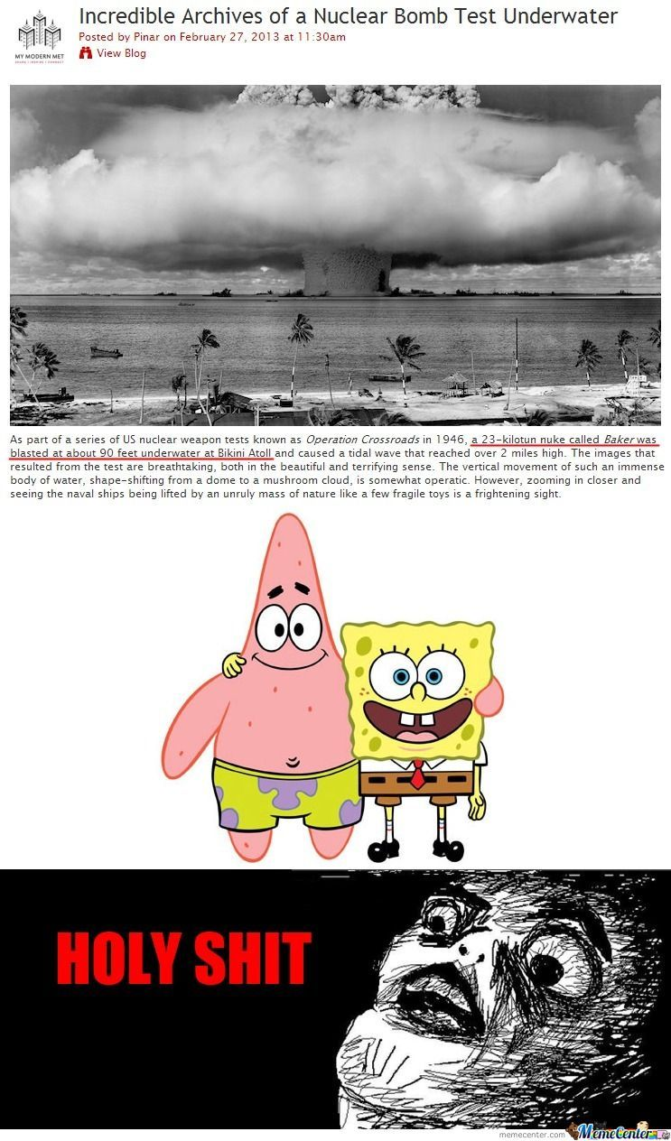 Spongbob Is Real!!!
