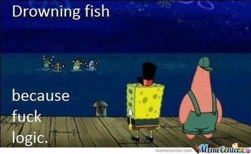 Spongebob-->f**k Logic